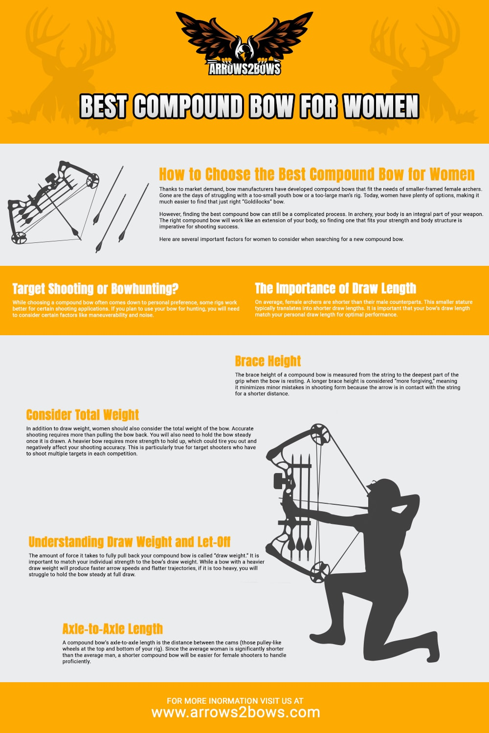 Best compound bow for women - How to choose the bow