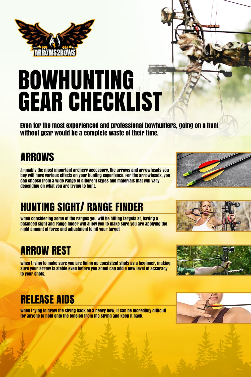 Bowhunting Gear Checklist - picture 1