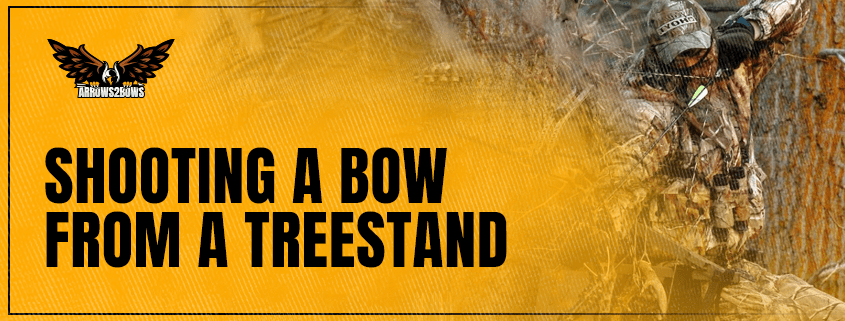 Shooting a Bow From a Treestand